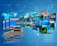 Data transfer Stock Photos
