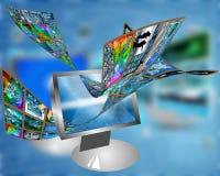 Data transfer Royalty Free Stock Photos