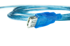 Data transfer cable Stock Photo