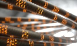 Data Transfer Digital World Royalty Free Stock Image