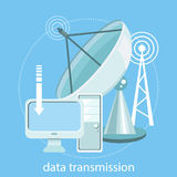 Data transmission Royalty Free Stock Photography
