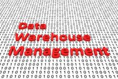 Data warehouse management Stock Photo