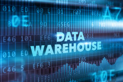 Data warehouse technology concept Stock Photo