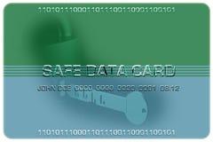 Data2 seguro Foto de archivo