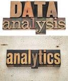 Dataanalys och analytics Royaltyfri Bild