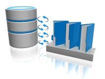 Database Royalty-vrije Stock Foto's