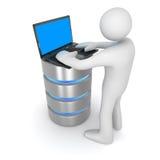 database ilustración del vector