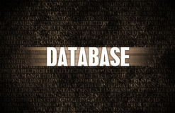 Database Royalty Free Stock Images
