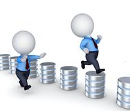 Database concept Stock Images
