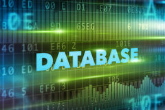 Database concept Stock Image