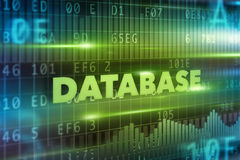 Database concept Stock Photos