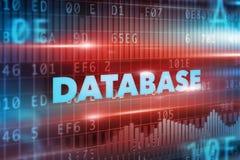 Database concept Royalty Free Stock Photo