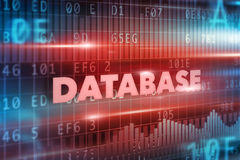 Database concept Royalty Free Stock Images