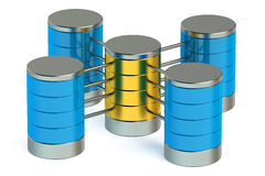 Database and data storage concept Royalty Free Stock Image
