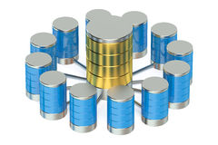 Database and data storage concept Royalty Free Stock Photography