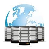 Database design, vector illustration. Stock Photo