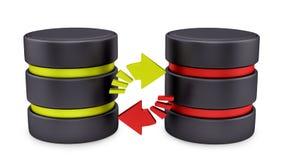Database icon Stock Photography