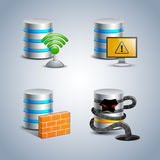 Database Icon set # 8 Royalty Free Stock Image