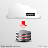 Database Icons Vector Stock Photos