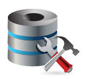 Database optimization and configuration concept Stock Photos