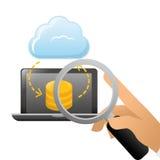 Database optimization and tuning icon Stock Image