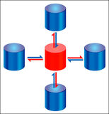 Database Replication Stock Images
