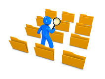 Database search Royalty Free Stock Images