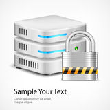 Database security concept Stock Photography