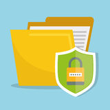 Database security system Royalty Free Stock Image