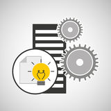 Database setting document idea creativity Stock Photo