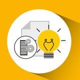 Database setting document idea creativity Royalty Free Stock Photography