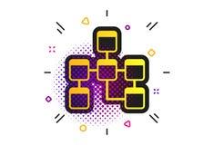 Database sign icon. Relational database schema. Vector