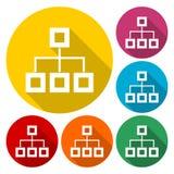 Database sign icon