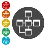 Database sign icon, Database Icon