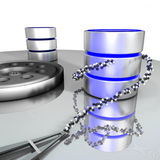 Database storage Royalty Free Stock Images