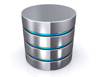 Database storage concept, cloud computing. Royalty Free Stock Photography