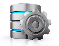 Database storage concept, cloud computing. Stock Photography