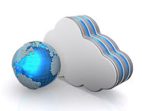 Database storage concept, cloud computing. Stock Images