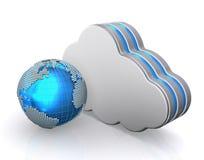 Database storage concept, cloud computing. Stock Images