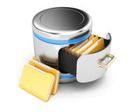 Database storage concept Royalty Free Stock Photos