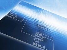 Database Table stock photo