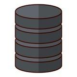 Database virtual storage Royalty Free Stock Photos