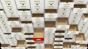 Databaseconcept Royalty-vrije Stock Afbeeldingen