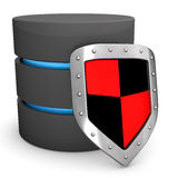 Databse Shield Stock Photography