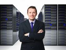 datacener 免版税库存图片