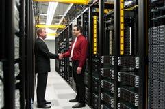 Datacenter交易 免版税库存照片