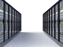datacenter的服务器空间 库存照片