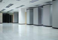 Datacenter #1 interno fotografia stock