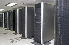 Datacenter Fotos de Stock Royalty Free