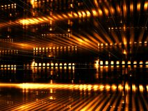 Datacenter abstrait - image digitalement produite Images stock
